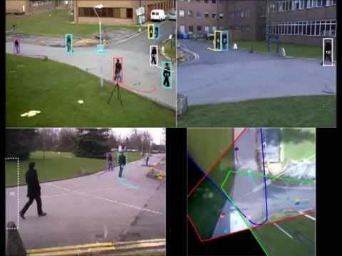 Multi‐camera multi‐target object tracking